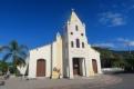 Une église en pierre, sable et huile de baleine