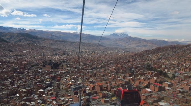 Les téléphériques de La Paz