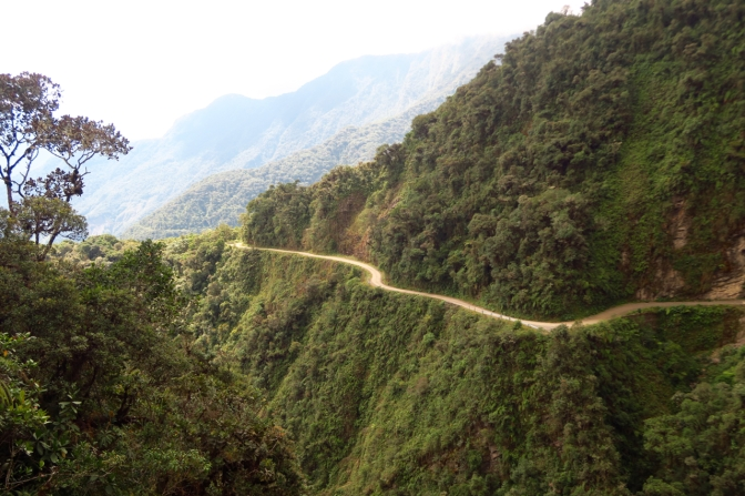 Les Yungas et la route de la mort