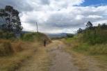 A Quito, dans le parc...
