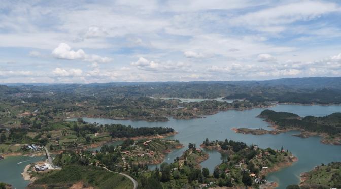 Le barrage de Guatape