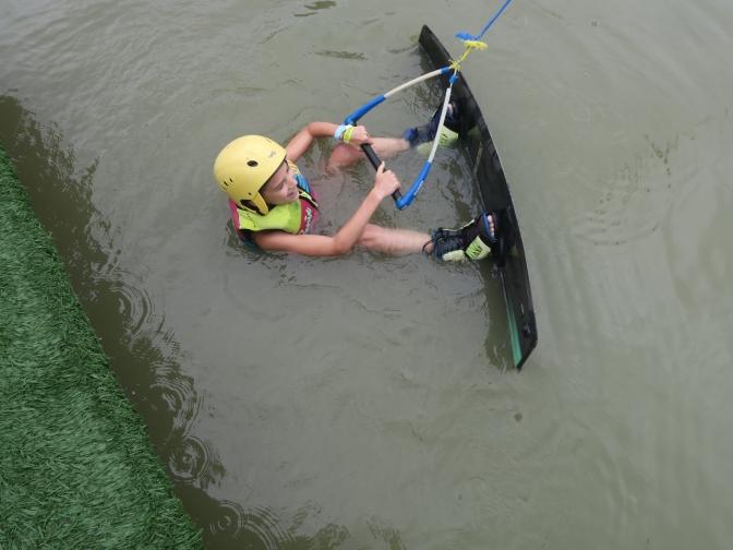 En wake-board à Bucaramanga
