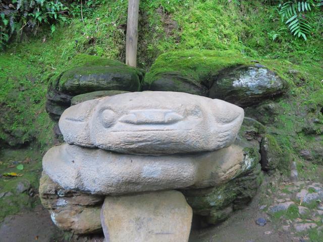 Les démons de pierre de San Agustin