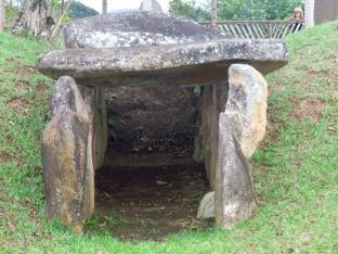 Un dolmen en Colombie?