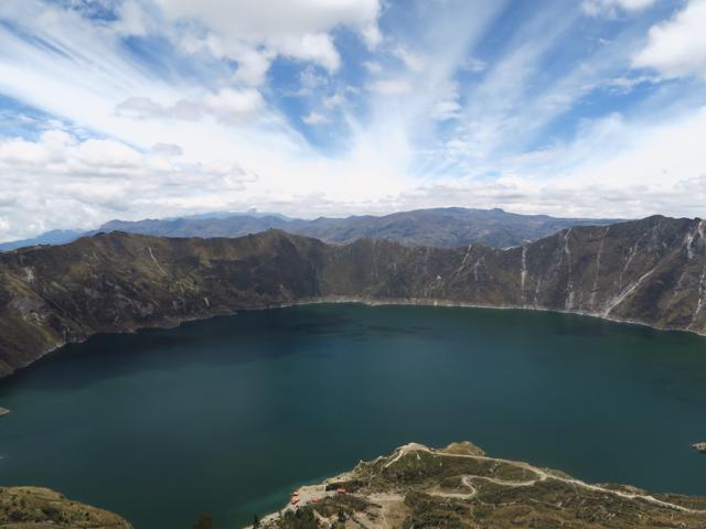 La lagune de Quilotoa