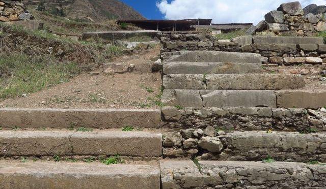 Vues sur la cordillère blanche: Chavin de Huantar