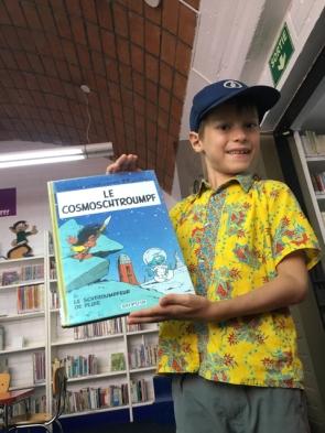 A la bibliothèque de l'Alliance Française