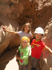 Exploration des grottes de sel