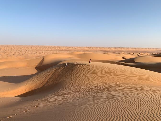 Samedi: L'or des dunes de Wahiba