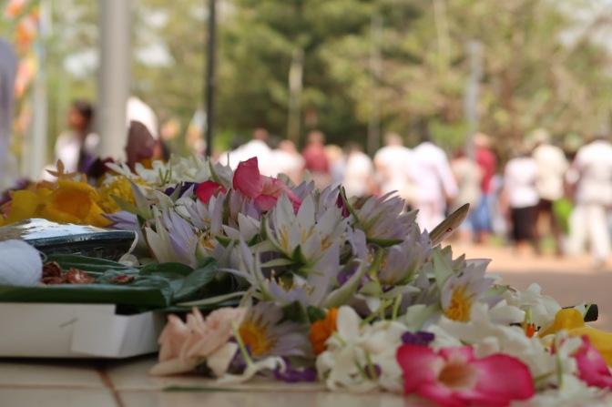 Un jour de Poya à Anuradhapura