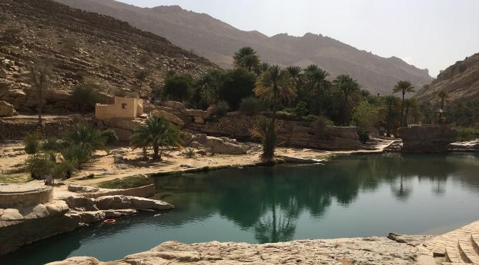 Dimanche: La mosaïque de verts et bleus de l'oasis de Wadi Bani Khalid