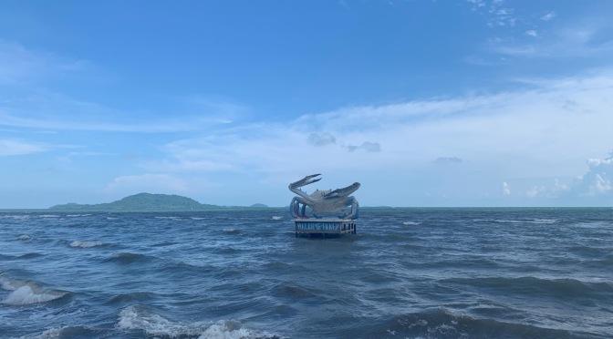 Sur la côte de Kampot à Kep